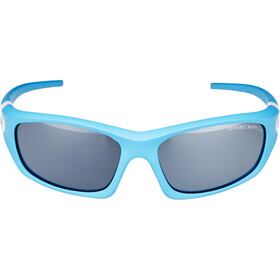 Alpina Flexxy Teen Glasses Youth cyan-white